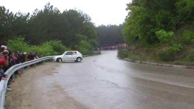 Рали спринт Варна 2014 Пежо 205