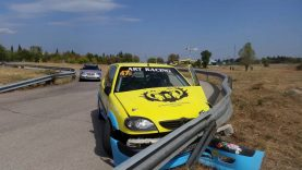 Circuit Stara Zagora 2016 P.Obretenov Citroen Saxo Crash / Писта Стара Загора