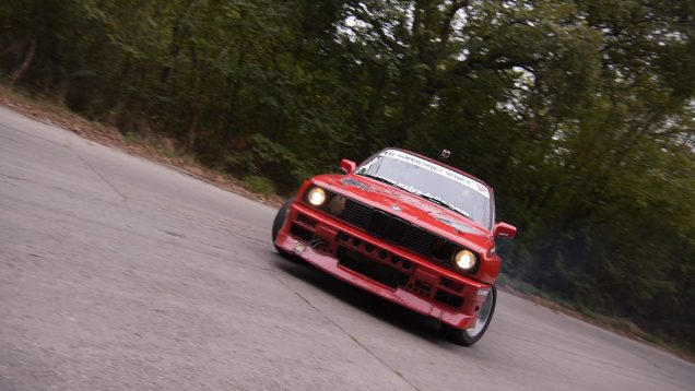 DRIFT FUN in the FOREST@BMW E30