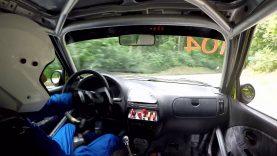 Hill climb Rahovets – Lyaskovets 09.07.2016 P. Obretenov Citroen Saxo crash