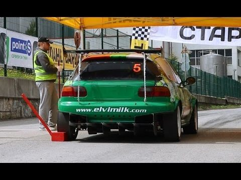 2017 Bulgarian Hillclimb 1st round – The winner (NS3-class) – Stefan Stoev with Honda Civic