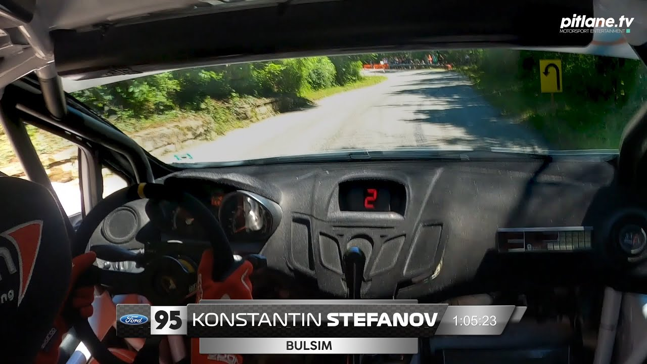 Константин Стефанов – Ford Fiesta R2 – Планинско Шумен 2020 (Манш 1)