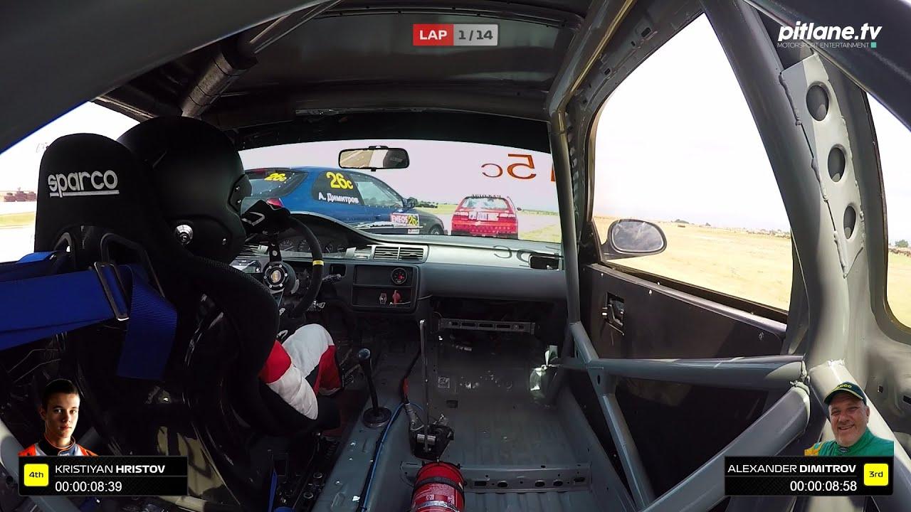 Кристиян Христов – Honda Civic – Писта Енеос 2020 (Дракон)
